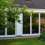 aluminium bi-fold doors Eaton