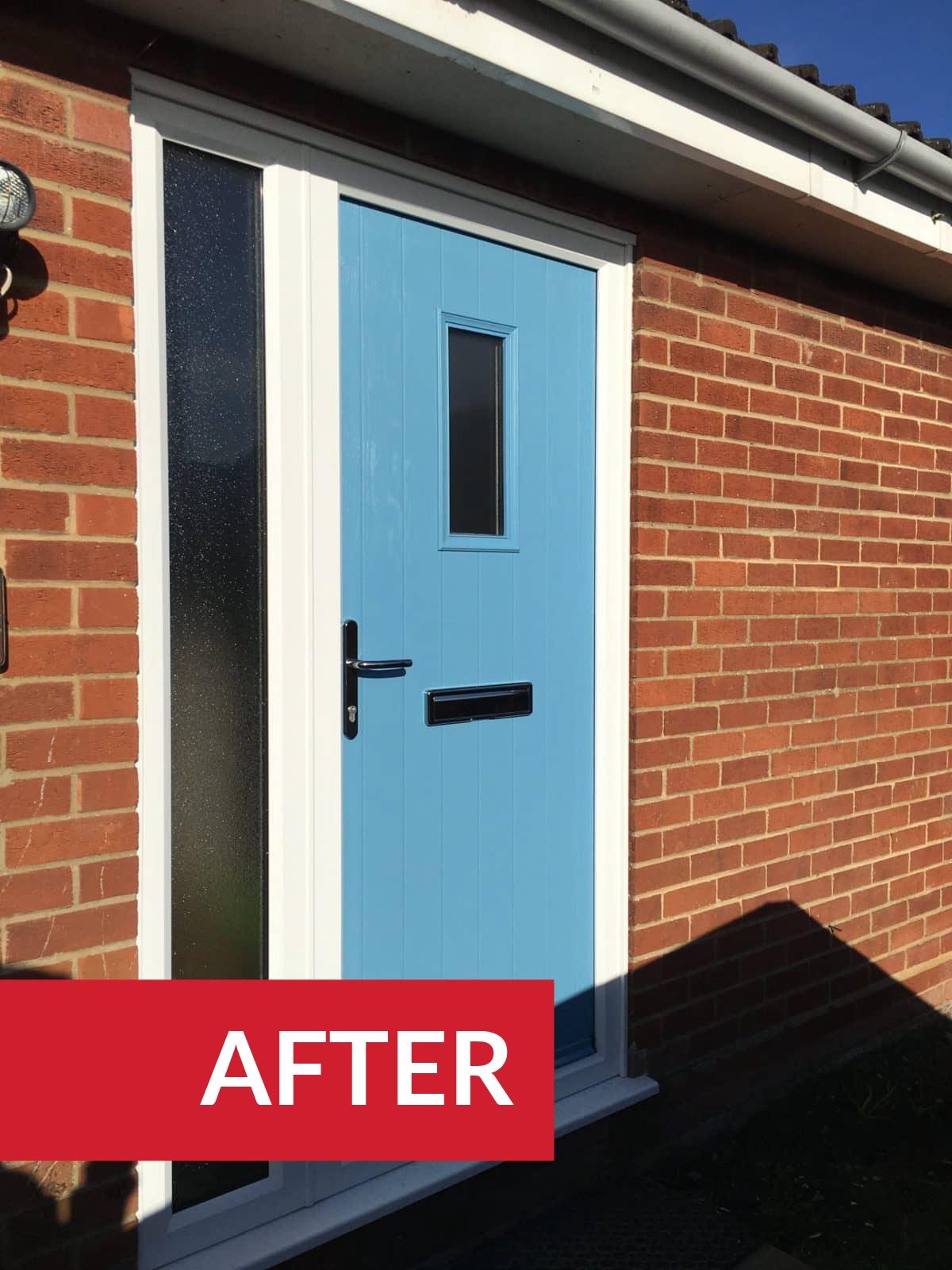 composite front door broadlnad Norwich