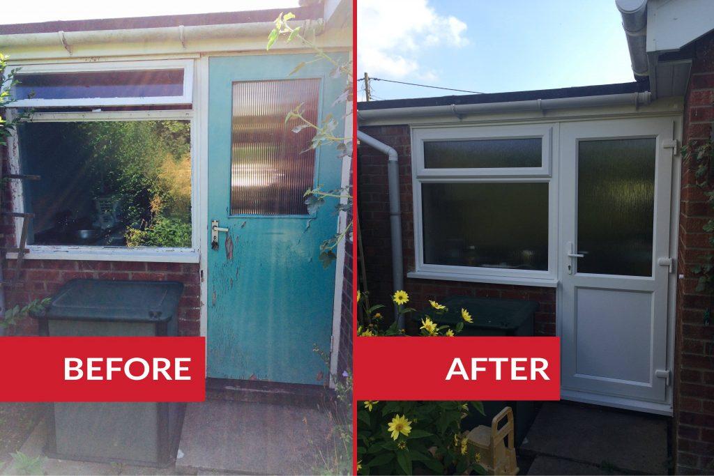 uPVC window and door installation