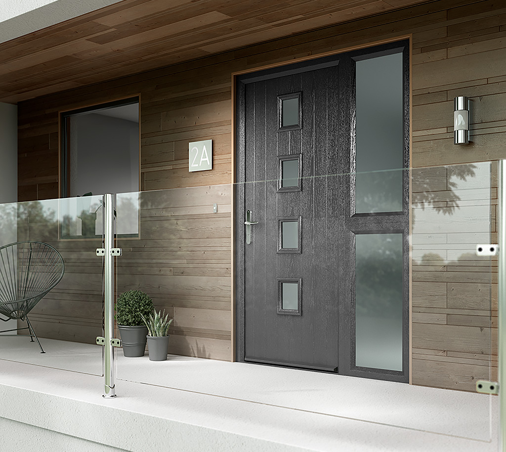 Contemporary Composite fire door Norwich Norfolk